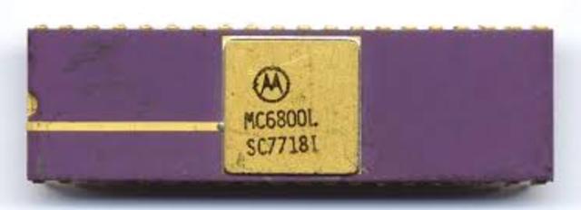 CPU Motorola MC6800