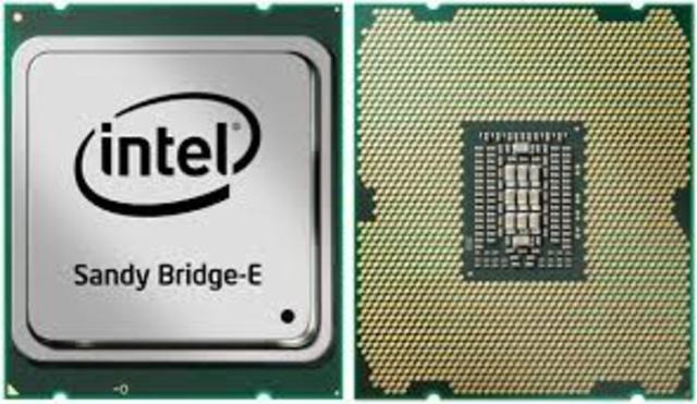 2011: El Intel Core Sandy Bridge