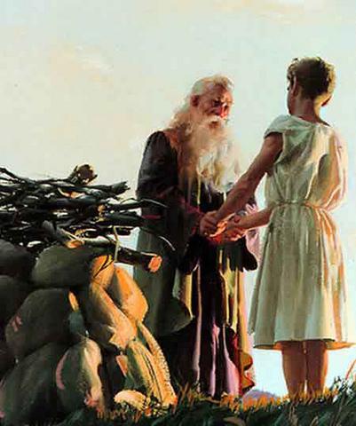 O Sacrifício de Isaque