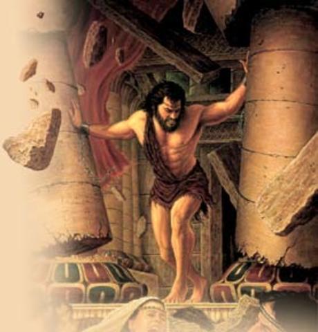 Sansão - Décimo Primeiro Juiz em Israel