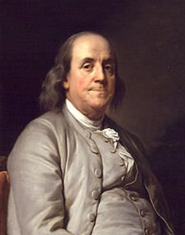 Benjamín Franklin discovered electricity