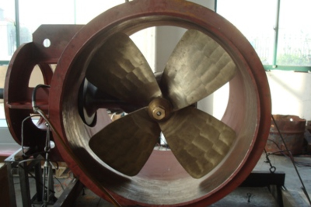 The pitch propeller