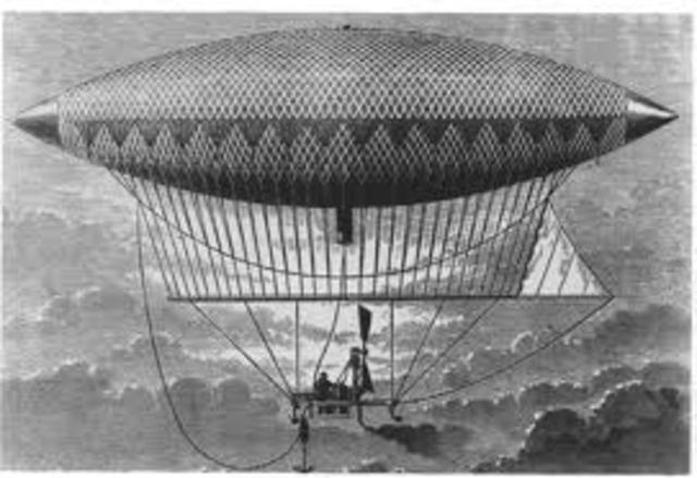 First Airship Flight