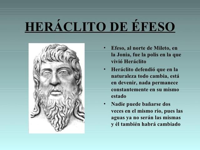 HERACLITO DE EFESO