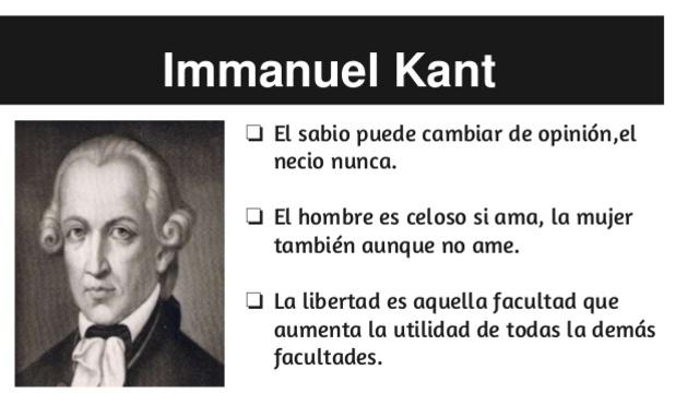 IMANNUEL KANT