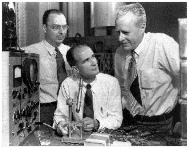 Invención de transistor