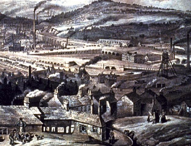 industrial revolution in Britian