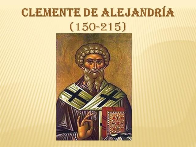 Clemente de Alenjandria