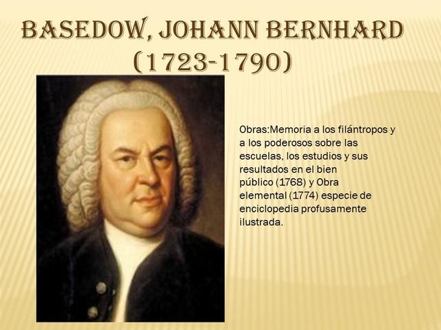 Basedow Johann Bernhard
