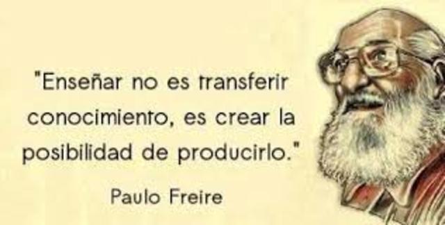 PAULO FREIRE 1921 - 1997