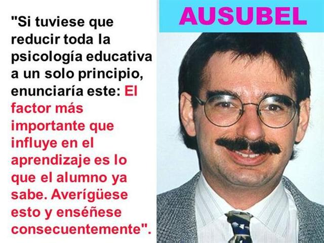 DAVID AUSUBEL 1918- 2008