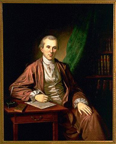 """Dr. Benjamin Rush """"Father of Psychiatry"""""""
