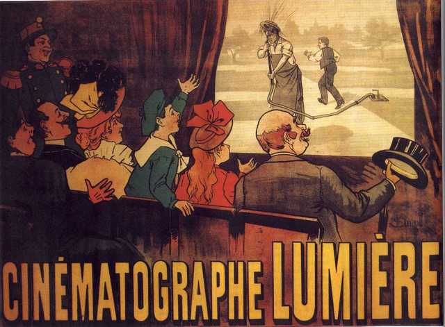 The Lumiere Brothers Invent the Cinematographe