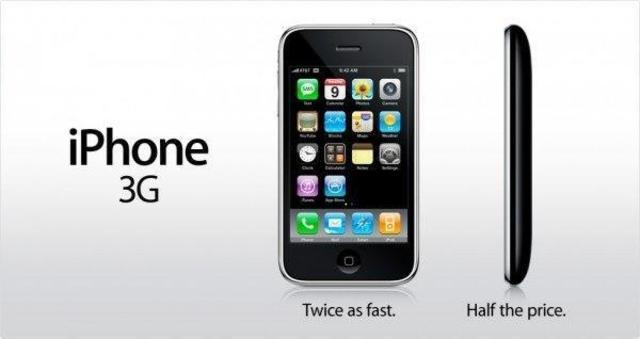 Apple lanza el iPhone 3G (California E.E.U.U)