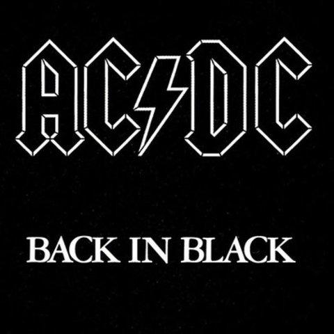 AC DC / Back in Black