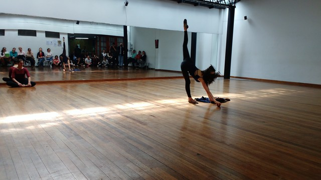 Gané mi primer concurso coreográfico