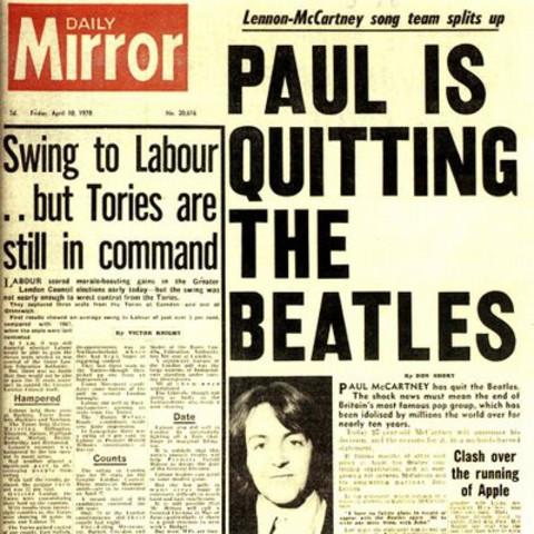 Separación The Beatles