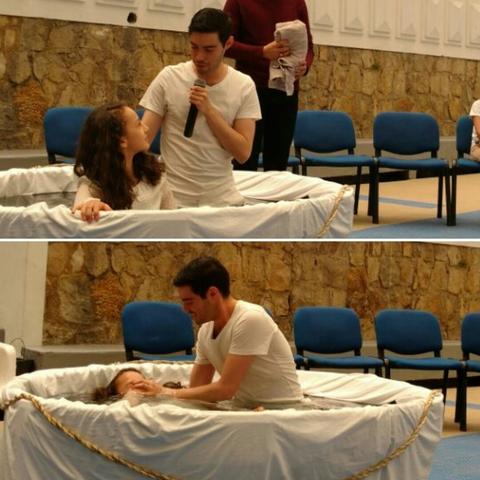 Me bauticé