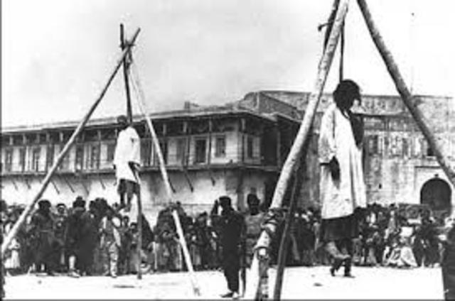 EMPIEZAN LAS MASACRES EN TURQUIA