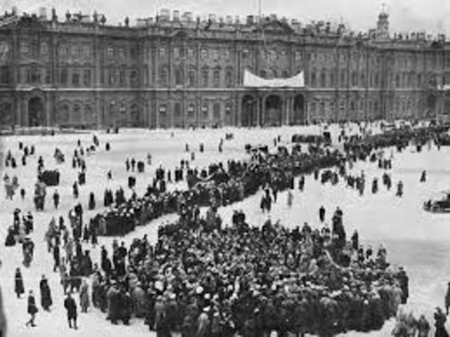 REVOLUCION DE OCTUBRE EN RUSIA
