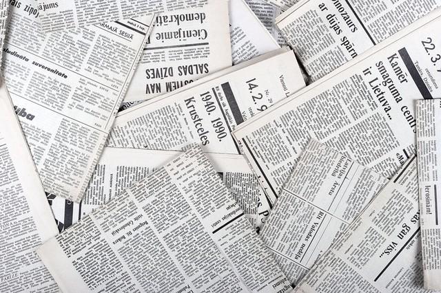 Frist exposure to newspaper