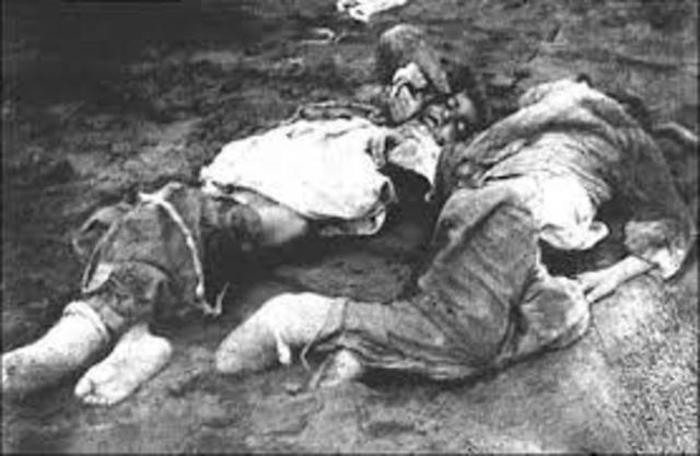 Masacre en anatolia