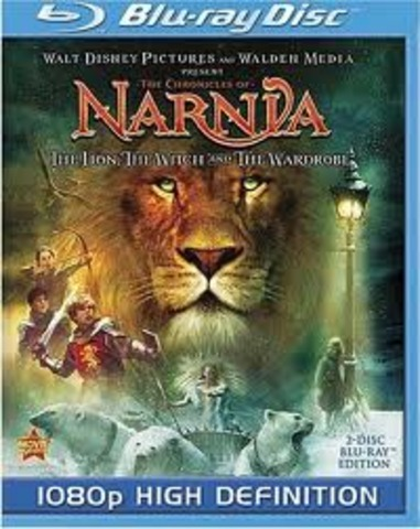 The chronicals of Narnia Lion, Witch, Wardrobe