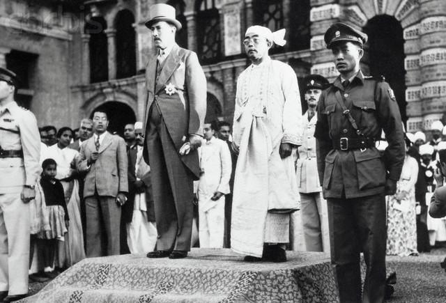 Burma gains independence