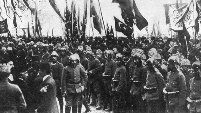 Imperio Otomano entra en guerra contra los aliados