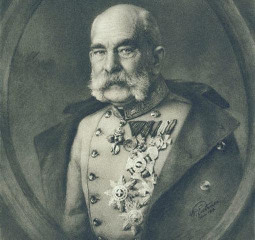 MUERE EL EMPERADOR ASTROHUGARO FRANCISCO JOSE