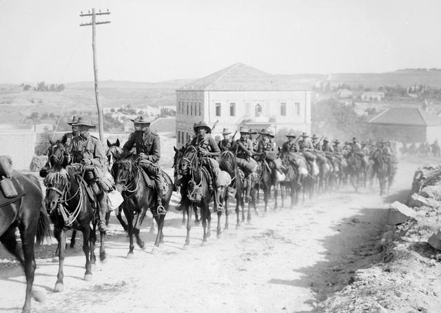INVACION BRITANICA EN JERUSALEN