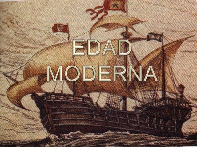 Edad Moderna (1453-1789)