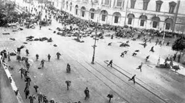 Derrotas rusas frente a Alemania