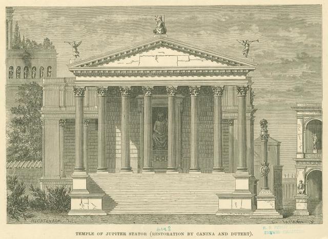 The Temple of Jupiter Stator