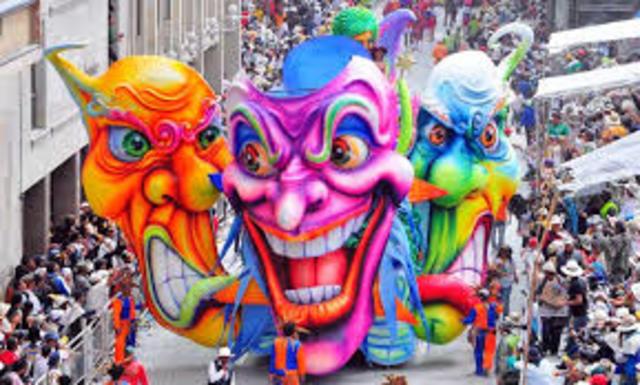 Carnaval de Blancos y Negro