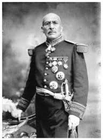 Nombramiento de Victoriano Huerta