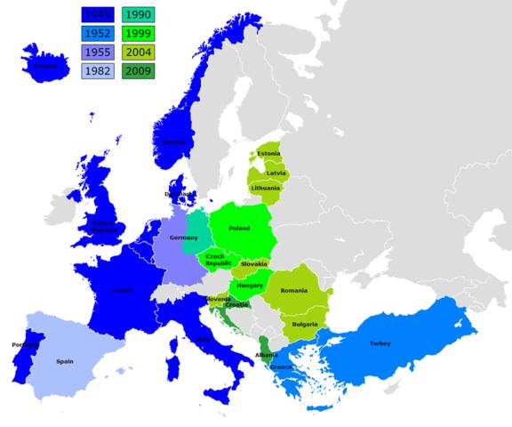 L'Italia entra nella Nato