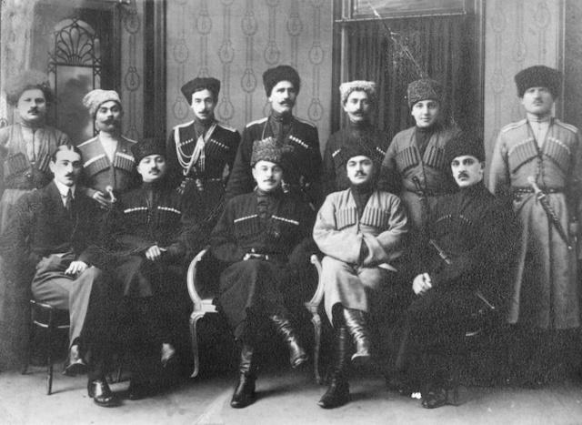 Mountainous Republic of the Northern Caucasus declared