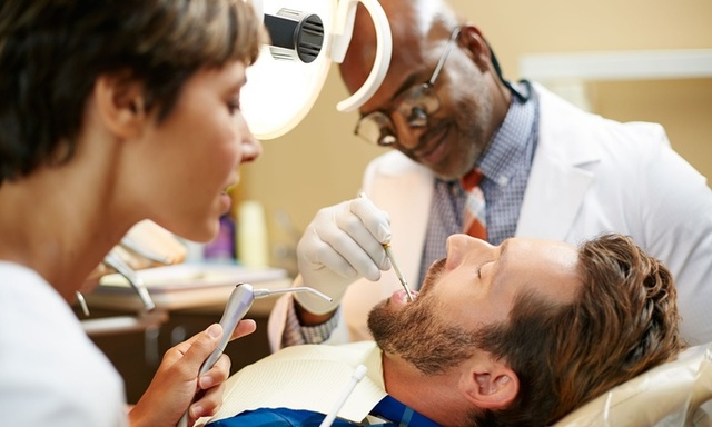 have a dental exam and clean every 6-12 months