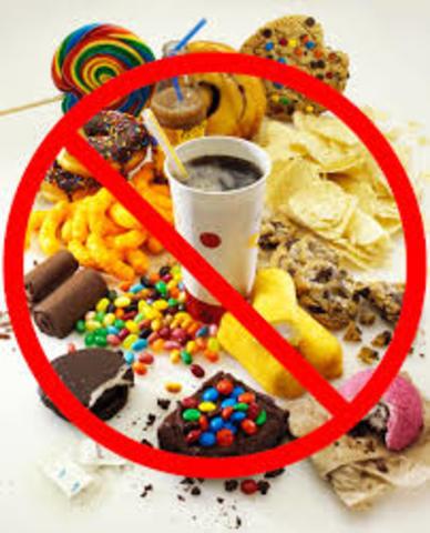 eat less junk foods