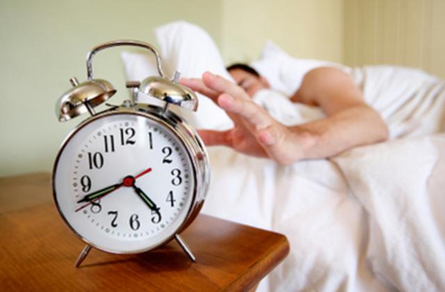 get enough sleep everyday