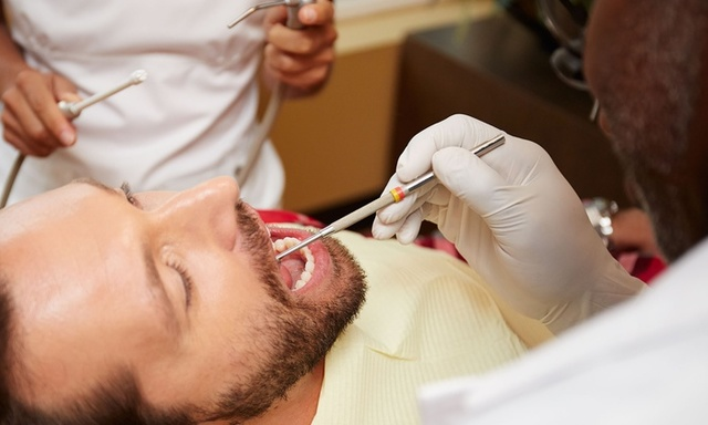 have dental exam and cleaning every 6-12 months
