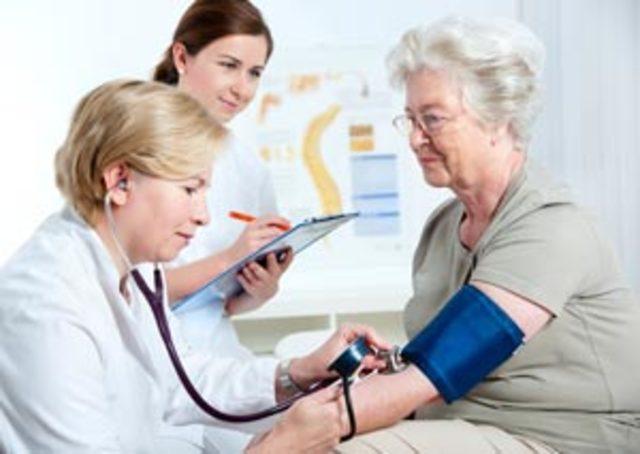 blood pressure screening every 2 years