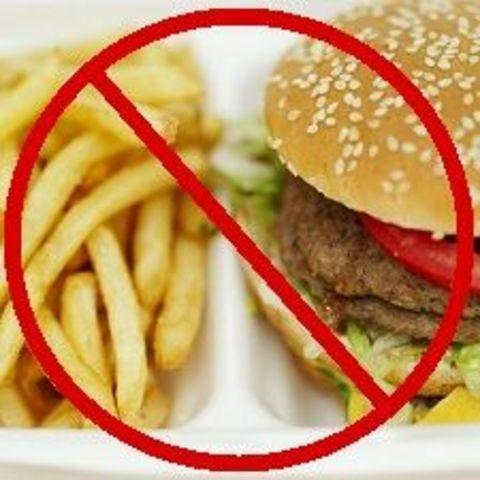 cut back on salt and unhealthy fat