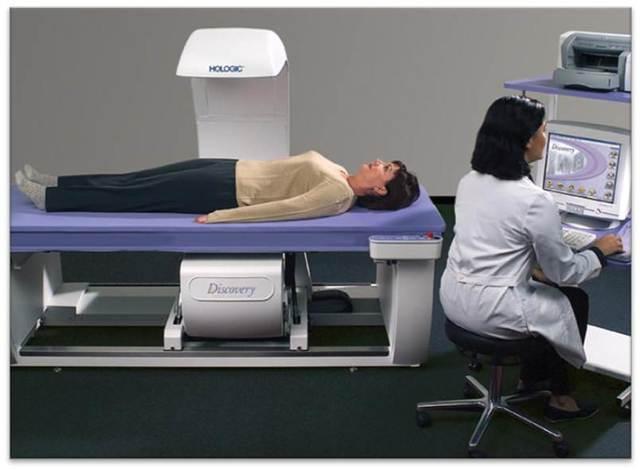 have a bone density test