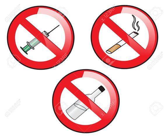 don't smoke or do drugs