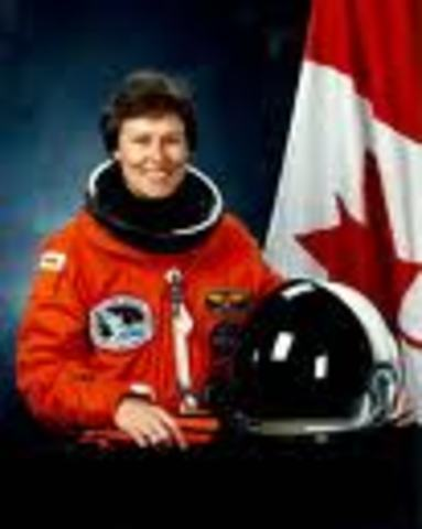 First Woman Of Canada in Space