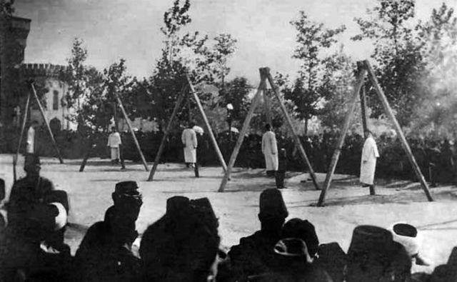 Masacres en Turquia
