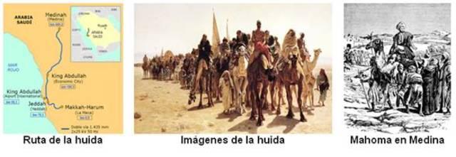 MAHOMA LLEGA AL CABO DE HEGIRA