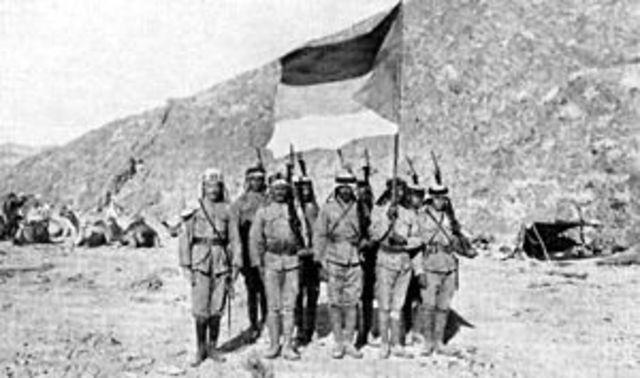 Inicio revuelta árabe
